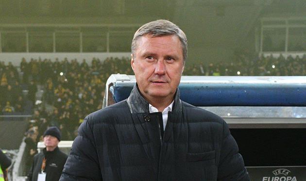 «Динамо»— АЕК: слова Хацкевича перед матчем