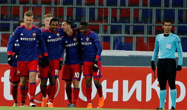 ЦСКА вышел в 1/8 финала Лиги Европы