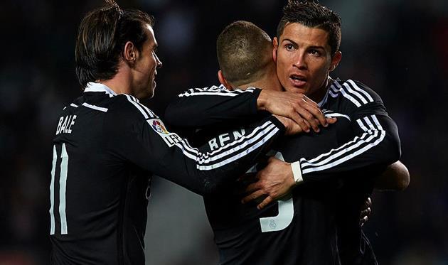 «Реал» обыграл «Алавес» благодаря дублю Роналду