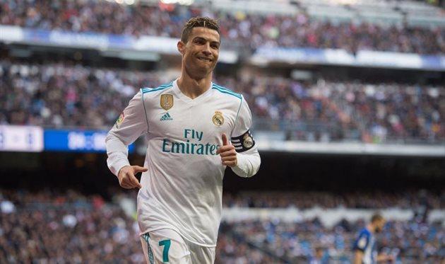 Криштиану Роналду забил три мяча. «Реал» удерживается на3 месте