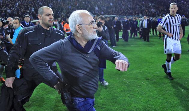 Иван Саввиди, фото twitter.com/AEK_FC_OFFICIAL