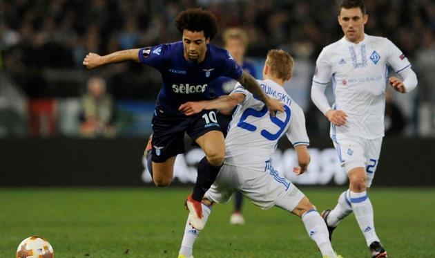 «Динамо» проиграло «Лацио» ивыбыло изЛиги Европы