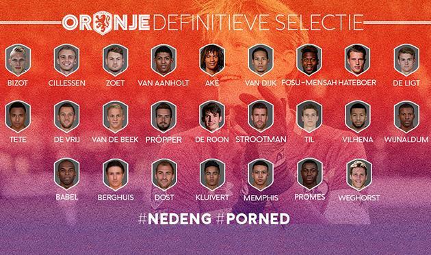 Нидерланды, twitter.com/OnsOranje