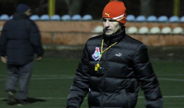 Алиев в куртке Локомотива начал тренировать Хмельницкий