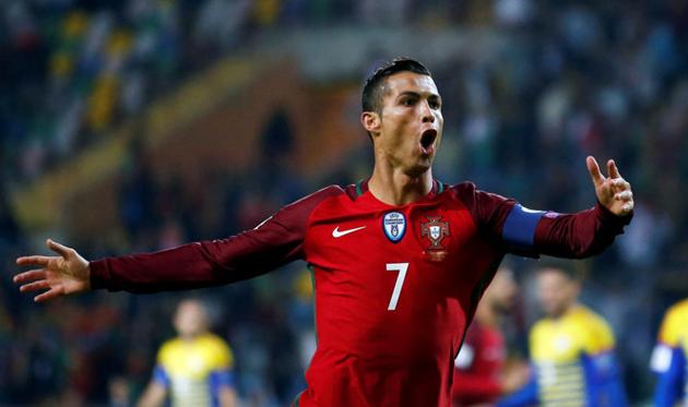 Дубль Роналду принес победу Португалии над Египтом