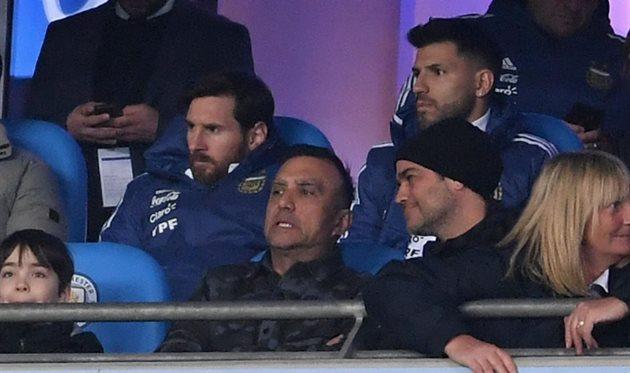 Лионель Месси и Серхио Агуэро пропустят матч против Испании, Getty Images