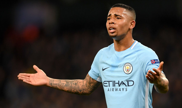 Жезус отвергнул предложение «Манчестер Сити» опродлении договора