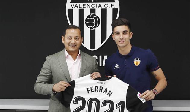Ферран Торрес, ФК Валенсия