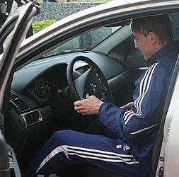 Макс за рулем, фото fcdynamo.kiev.ua