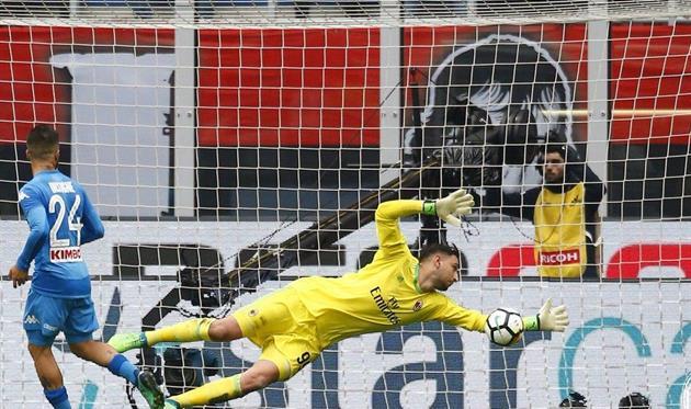 Джанлуиджи Доннарумма спасает Милан от поражения, фото ФК Милан