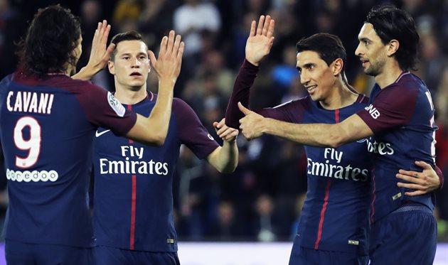 ПСЖ первым в топ-5 лигах Европы забил 100 голов в этом сезоне