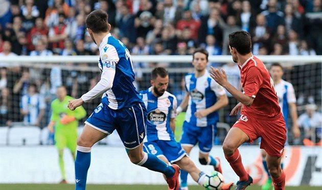 Депортиво и Севилья поделили очки, twitter.com/RCDeportivo