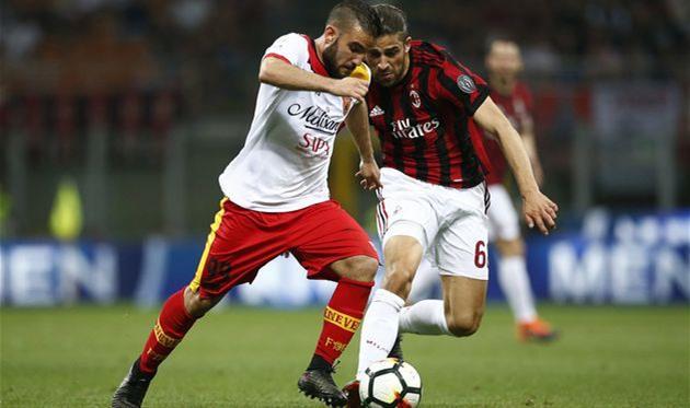 Беневенто обыграл Милан ипока остается вСерии А