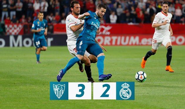 Севилья – Реал Мадрид, фото: twitter.com/realmadrid