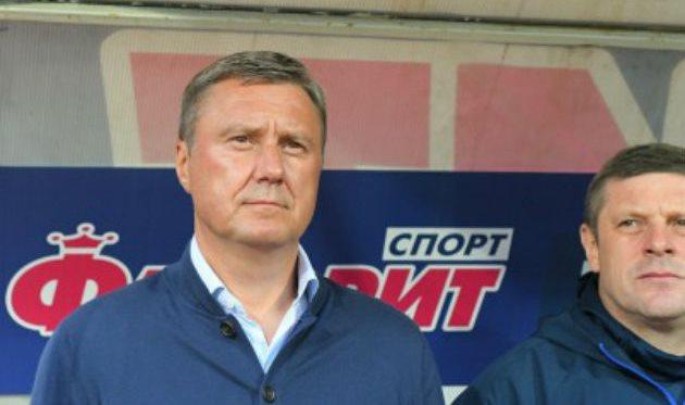 Александр Хацкевич (слева), ФК Динамо Киев