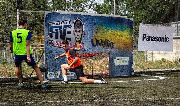 В Днепре определили финалистов футбольного соревнования Red Bull Neymar Jr's Five!