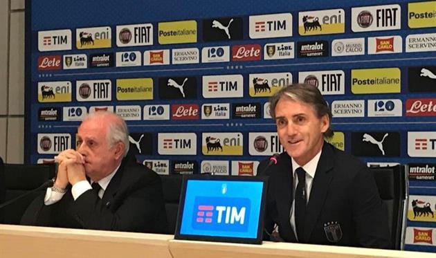 Роберто Манчини, фото twitter.com/FOXSports