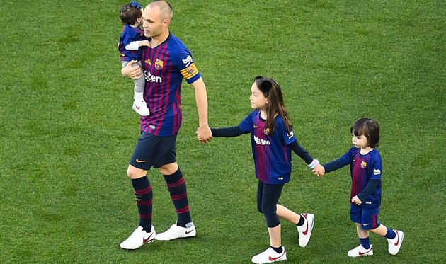 Иньеста покинул Барселоны, фото: Getty Images