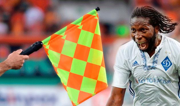 Мбокани — лидер по количеству офсайдов в сезоне, несмотря на всего 21 сыгранный матч
