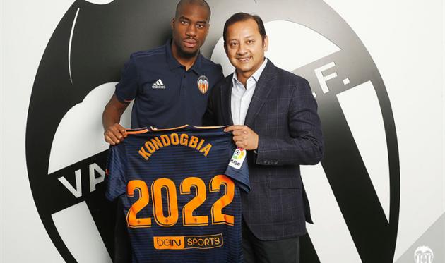 Джоффри Кондогбия, фото ФК Валенсия