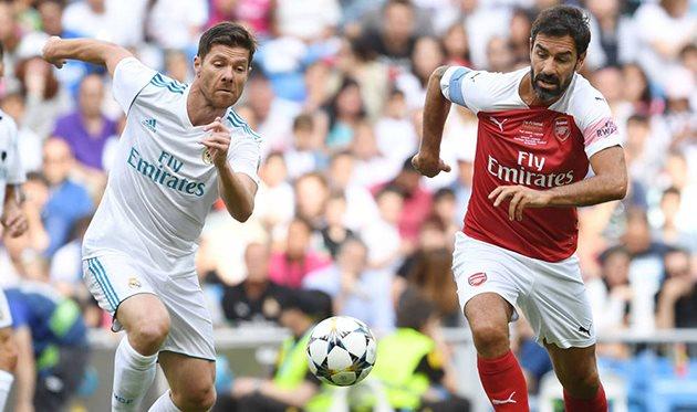 Легенды Реала - Легенды Арсенала, фото фк Арсенал