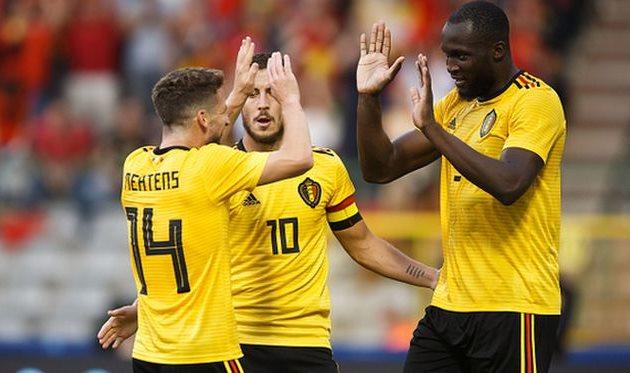 бельгия завершила подготовку к чемпионату мира победой, getty images