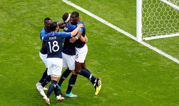 Франция обыграла Австралию на чемпионате мира