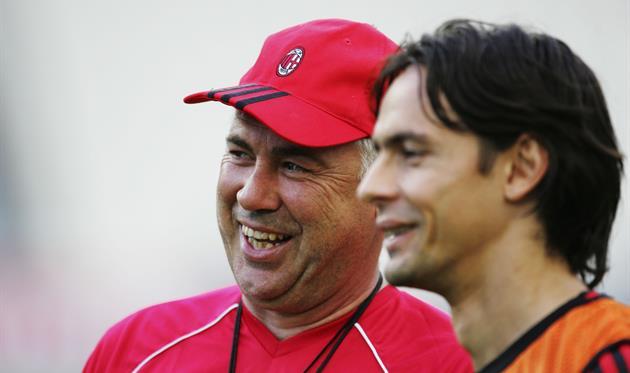 Карло Анчелотти и Филиппо Индзаги, Getty Images