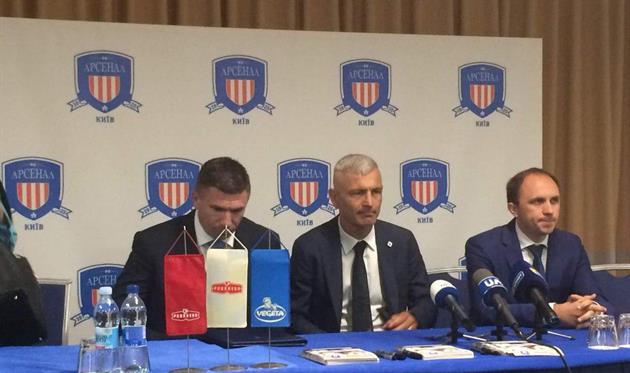 Фабрицио Раванелли — главный тренер киевского Арсенала