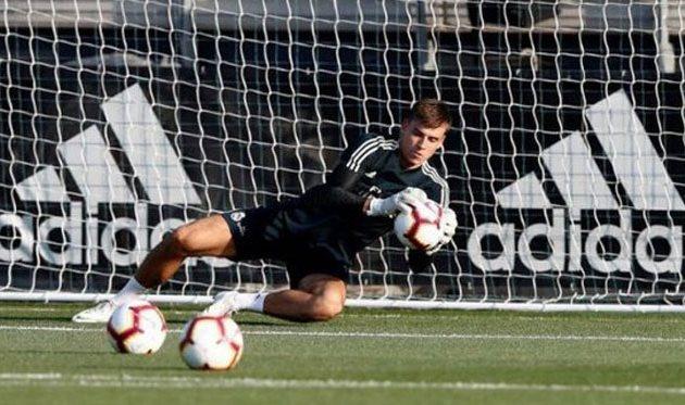Андрей Лунин, фото ФК Реал Мадрид
