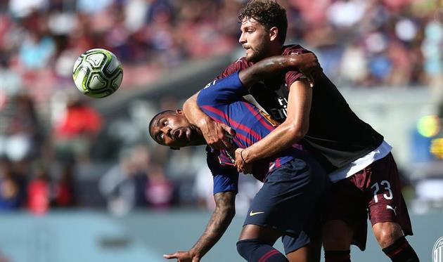 Милан на93-й минуте вырвал победу уБарселоны— МКЧ