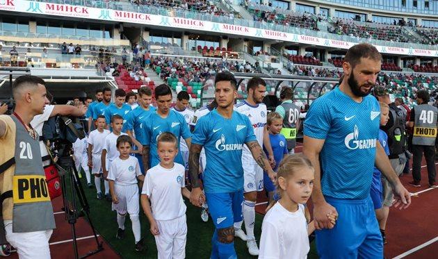 Динамо Мн — Зенит 4:0 Видео голов и обзор матча