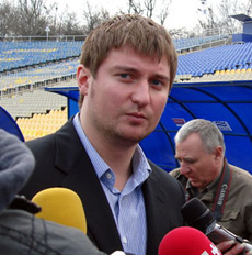 Олег Марус, chernomorets.odessa.ua