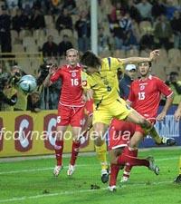 Андрей Русол забивает победный гол, fcdynamo.kiev.ua
