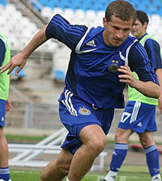 Александр Алиев, фото fcdynamo.kiev.ua