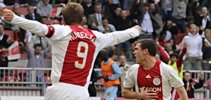 Первая победа Аякса. Фото ajax.nl