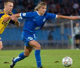 Калиниченко давно не в красно-белом, фото fcdnipro.ua
