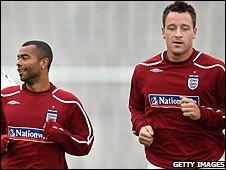 Коул и Терри вне игры, фото bbc.co.uk
