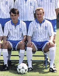 Виктор Леоненко (справа)