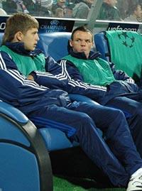 Артем Кравец (слева), фото Ильи Хохлова, football.ua