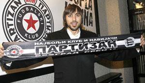 Горан Гавранчич, фото partizan.co.yu