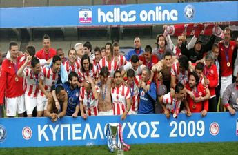 Олимпиакос берет Кубок Греции