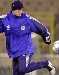 Андрей Несмачный, фото dynamo.kiev.ua