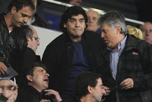 Марадона стал свидителем поражения гостей, АР