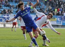 Шершун против Милевского, фото И. Хохлова, Football.ua