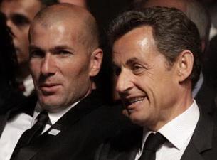 Зизу и Саркози, фото Reuters