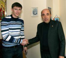 Максим Шацких и Вадим Рабинович, фото ФК Арсенал