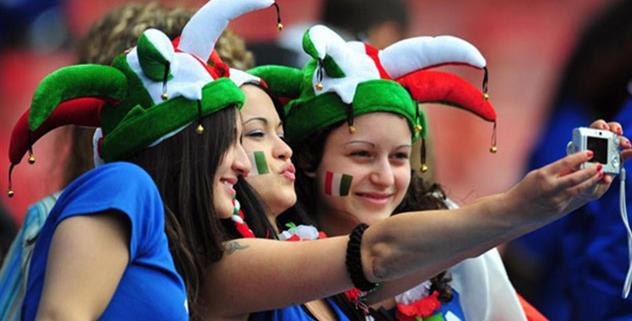 Итальянские болельщики, photobucket.com