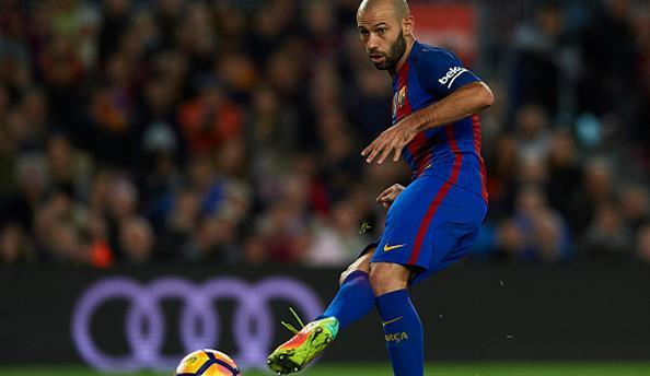 Маскерано подтвердил, что проход «Барселоны» несправедлив