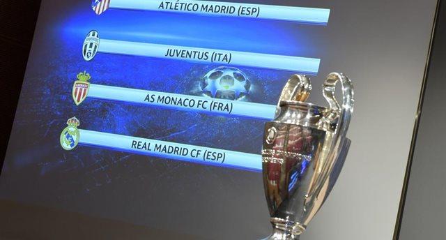 Стали известны полуфинальные пары Лиги чемпионов